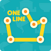 ONE LINE KING PUZZLE