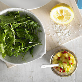 Mixed Greens with Lemon Sumac Vinaigrette