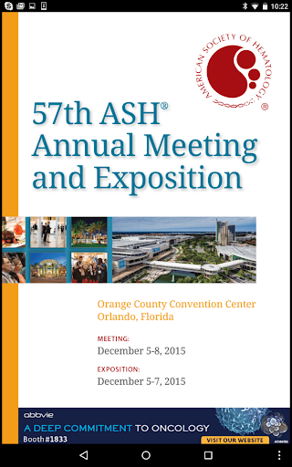 2015 ASH Annual Meeting Expo