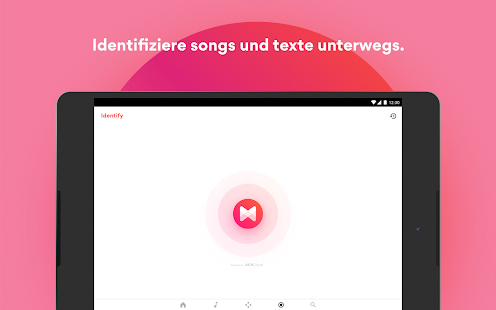 Musixmatch Songtexte Screenshot