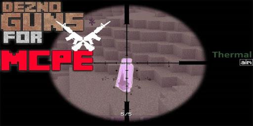 Dezno Guns MOD for MCPE for PC