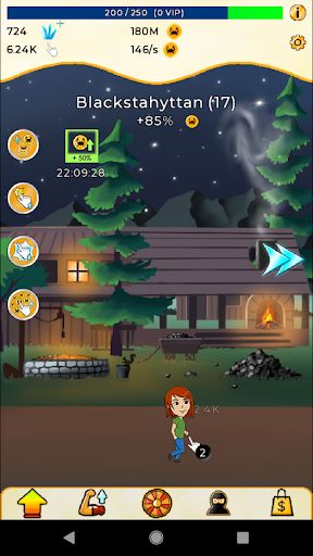 Wealth Idle Clicker mod apk 1.0.42 screenshots 2