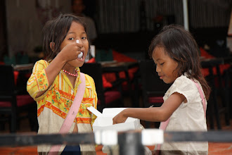 Photo: Year 2 Day 42 -  Kid Street Sellers, Sharing Some Food