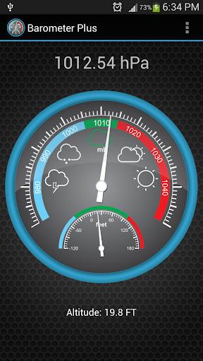 Barometer Plus 4.0.2 screenshots 1