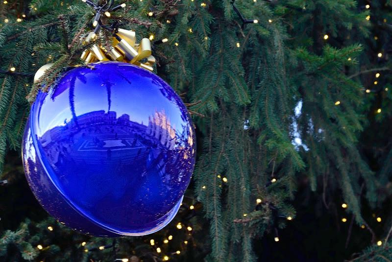 Fish eye in una palla di Natale di Rossella13
