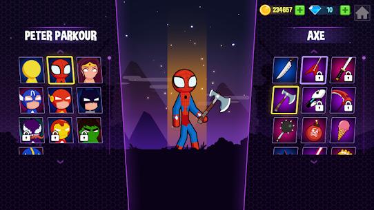 Spider Stickman Fighting 2 – Supreme stickman duel 8
