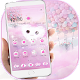 Fluffy Pink Love Theme Cloud Kitty icon