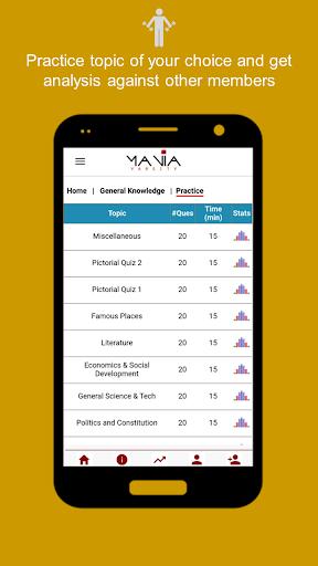 ManiaQuiz - improves skills for competitive exams  screenshots 4
