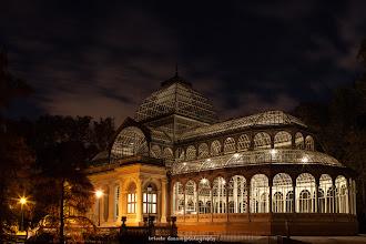 Photo: Palacio de Cristal de El Retiro, Madrid. Filtros: Sin filtros