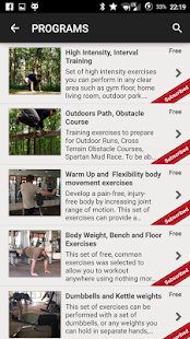 "Fitness Training ""WarriorFit""- screenshot thumbnail"