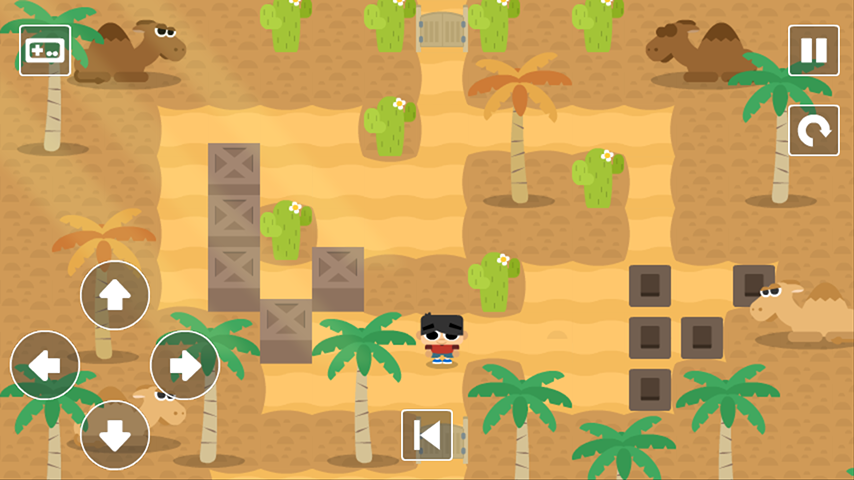 Sokoban Land (Ads Free)- screenshot
