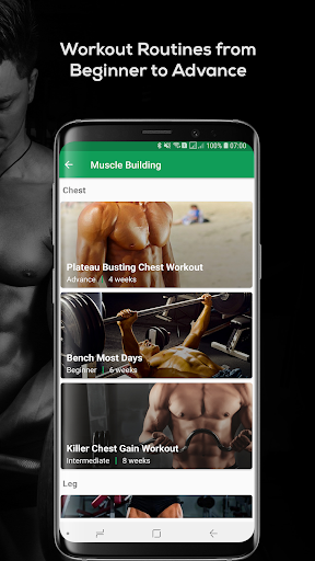 Fitvate - Home & Gym Workout Trainer Fitness Plans 6.8 screenshots 6