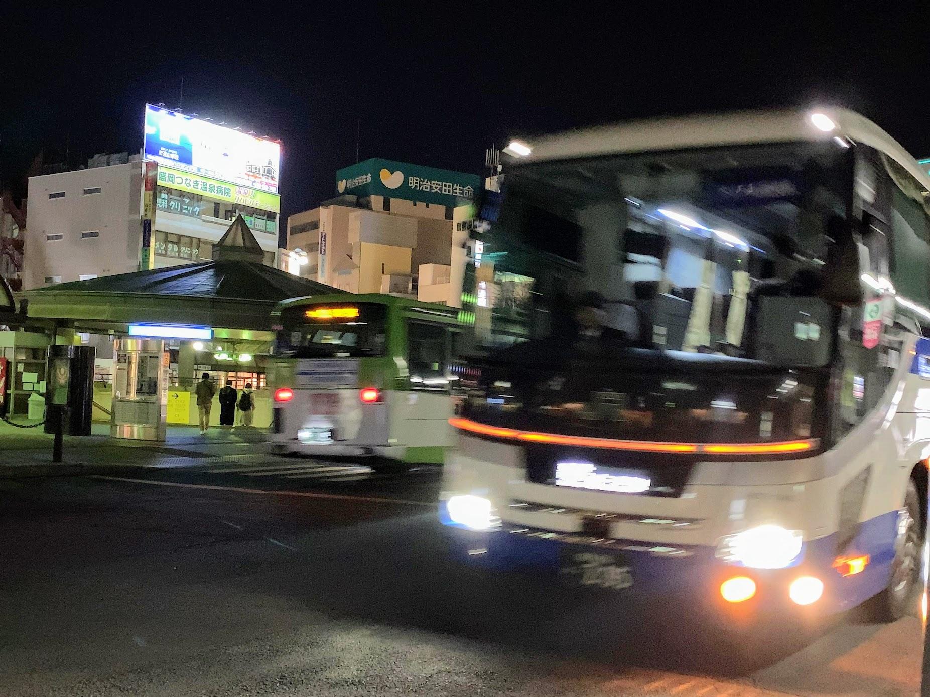 新・ドリーム盛岡4号に乗ってきました(盛岡発東京行夜行バス)