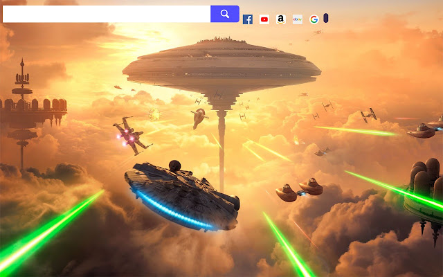 Star Wars Game HD Wallpapers New Tab.