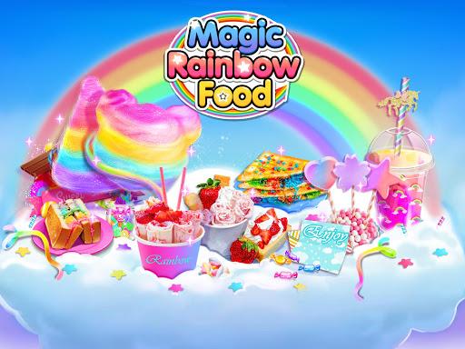Magic Rainbow Unicorn Foods u2764 Dream Desserts! 1.0 screenshots 1