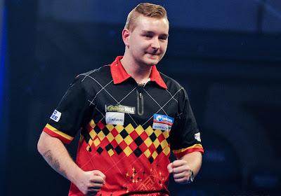 Dimitri Van den Bergh kent mogelijke tegenstander op PDC World Darts Championship