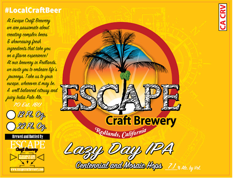 Logo of Escape Lazy Day IPA