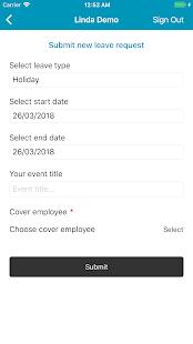 App LW Employee Holiday Planner APK for Windows Phone