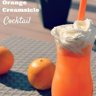 Orange Creamsicle Cocktail.