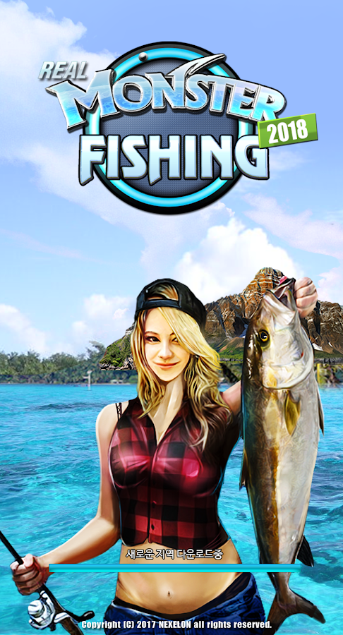 Monster Fishing 2018- screenshot
