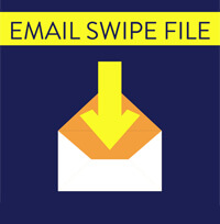 Email Swipe File Icon