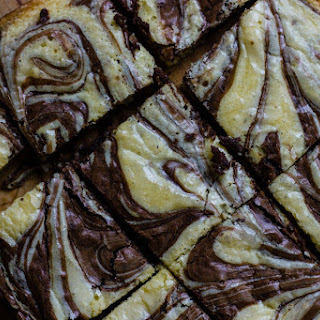 Marbled White And Dark Brownies.