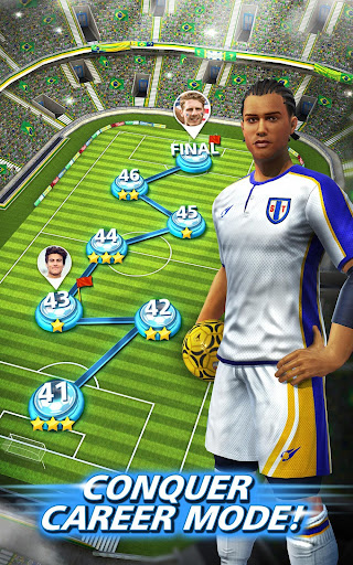 Football Strike - Multiplayer Soccer  gameplay | by HackJr.Pw 11