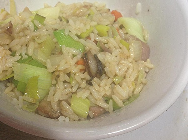 Bacon And Leek Fried Rice Recipe