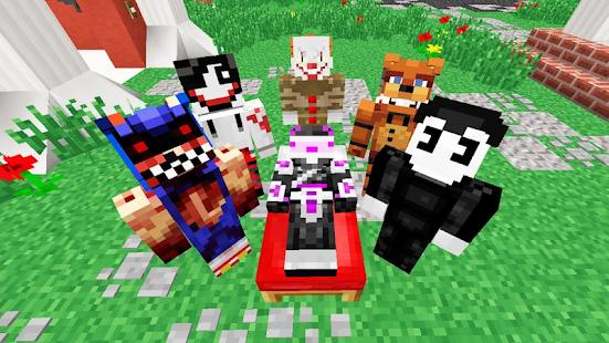 Creepypasta Skins For Minecraft PE Apps Bei Google Play - Freddie skins fur minecraft