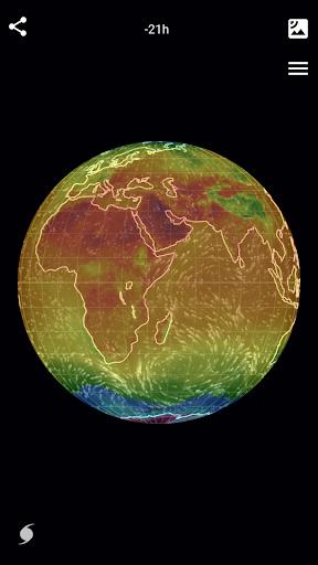 Wind Map ud83cudf2a Hurricane Tracker (3D Globe & Alerts) 2.2.9 Screenshots 5