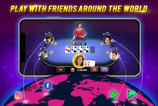 MF Texas Poker - Texas Hold'em 3.20 Mod screenshots 2