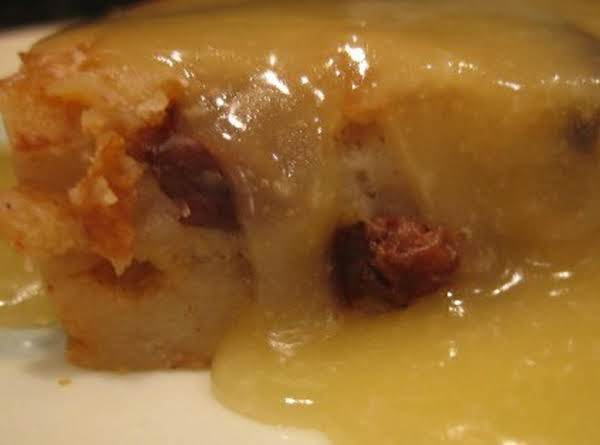 Laura's Bread Pudding With Vanilla Sauce Recipe
