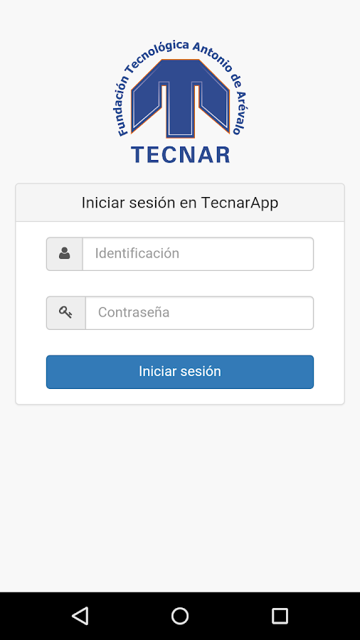 TecnarApp- screenshot
