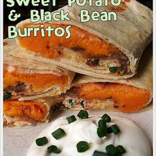 Addicting Sweet Potato and Black Bean Freezer Burritos