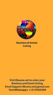 Ebeano - African EventsBiz DIR- screenshot thumbnail