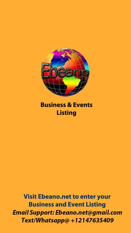 Ebeano - African EventsBiz DIR- screenshot