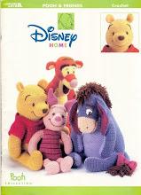Photo: pooh & friends crochet pattern