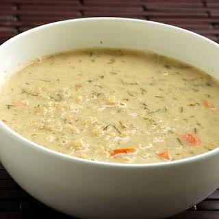 Greek Lemon Quinoa Soup.