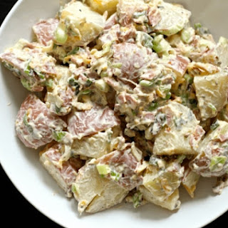 Loaded Potato Salad & Chipotle Ranch Dressing Recipe