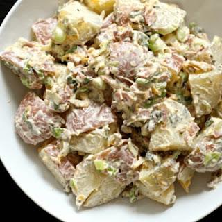 Loaded Potato Salad & Chipotle Ranch Dressing.