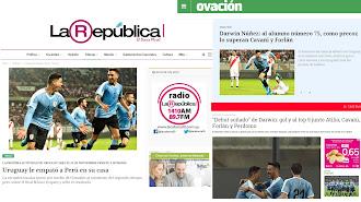 La República, Ovación y Observador abren los Deportes con Darwin Núñez.