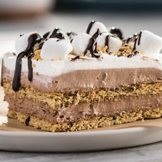 "No-Bake S'more ""Cake"""