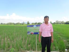 Photo: Mr. Chian Ngong-ngoay, Bannamlod village, Bothong sub district, Thong Saen Khan district, Uttaradit province