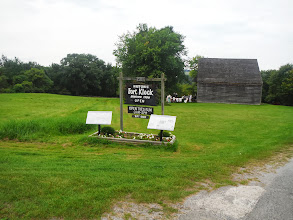 Photo: Day 51 August 8 2013 Herkimer to Latham NY  Fort Klock originally 600 acres, includes fort, town, school house, slave quarters, built in 1750
