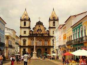 Photo: #019-Salvador de Bahia. Igreja e Convento de São Francisco.