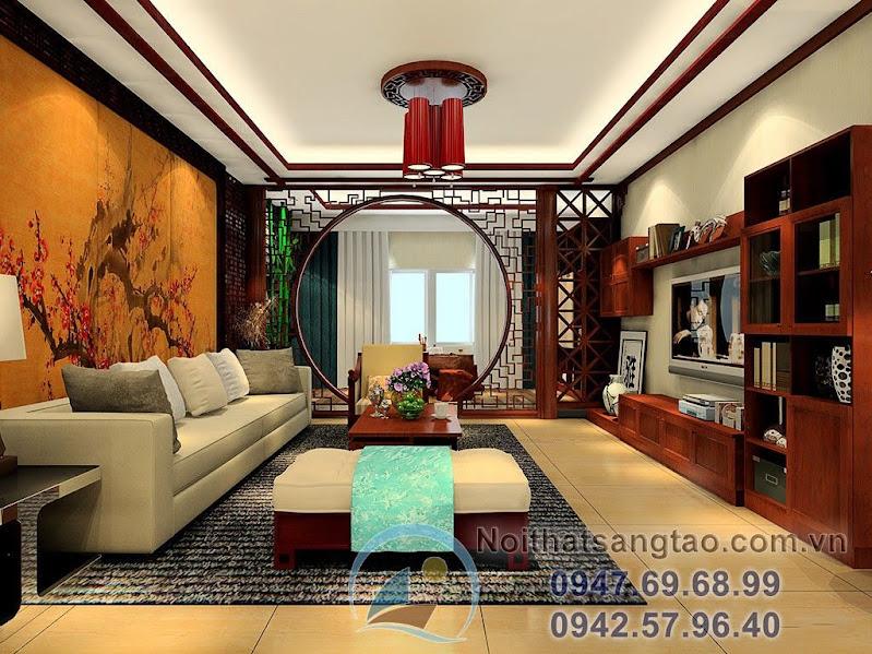 phong cách nội thất Trung Quốc