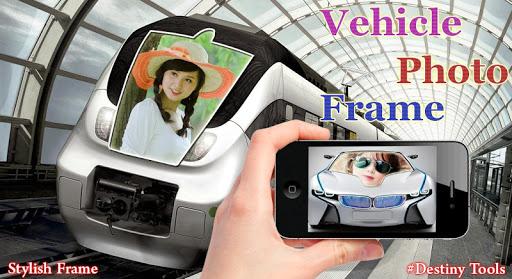 Vehicle Photo Frame