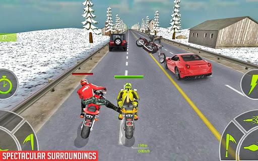 Crazy Bike attack Racing New: motorcycle racing  screenshots 14