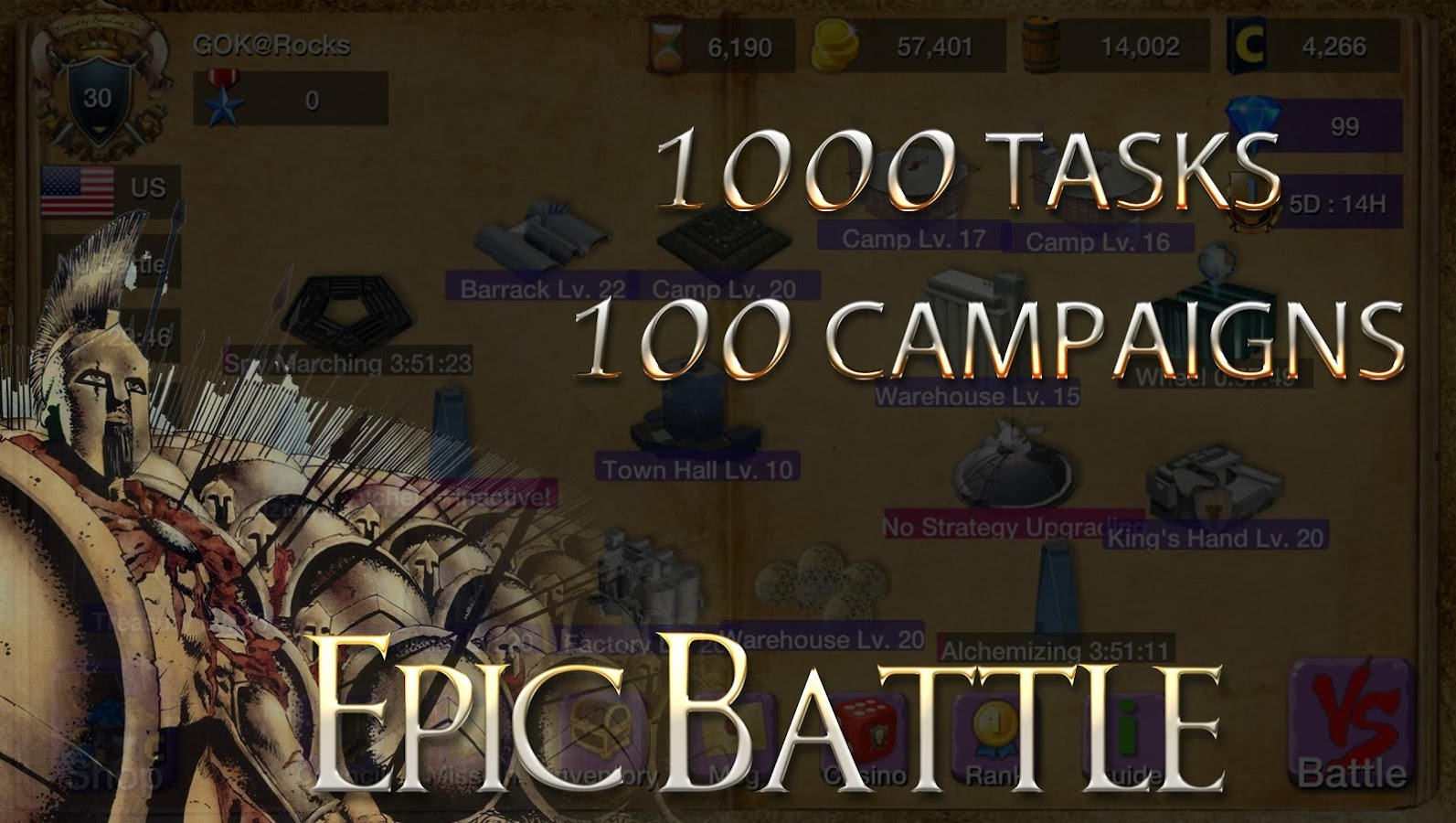 Screenshots of Age of War Empires lll for iPhone