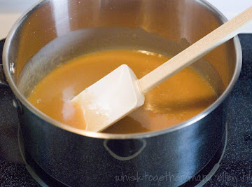 Hot Caramel Sauce  Recipe